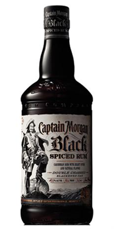 Captain Morgan Rum Black Cask Spiced Rum 100@